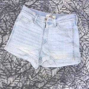 High rise hollister shorts